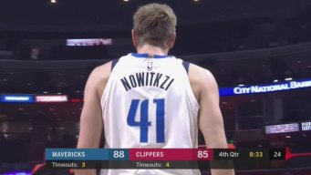 Dirk's Name Misspelled on Jersey Worn on Historic Night
