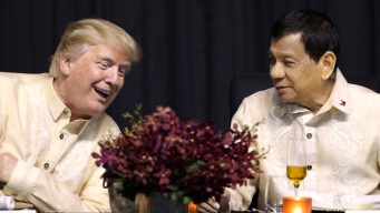 Trump Buddies Up to Duterte, Doesn't Highlight Human Rights
