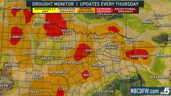 Extreme Drought Worsens Across North Texas