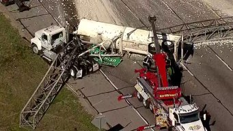 Rock Hauler Crash to Keep I-20 Partially Closed for Hours