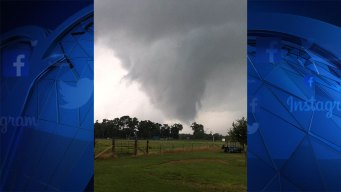 EF-0 Tornado Touched Down in Van Zandt Co. Thursday