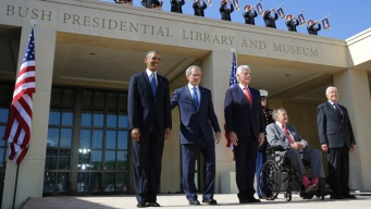 Bush Library Hosts 438,000 Visitors in First Year