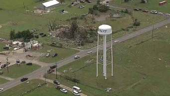 Red Cross Assisting Tornado Victims in Canton, Emory