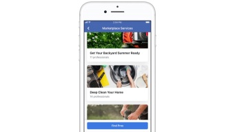 Facebook Marketplace Adds Home Plumbing, Cleaning