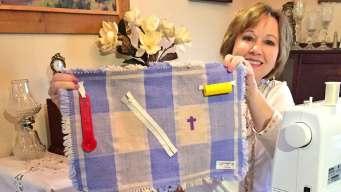 Granbury Woman Sews Fidget Mats To Help Dementia Patients