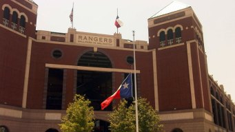 Ballpark Flags Lowered to Half-Staff