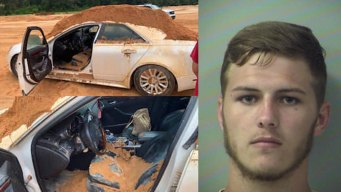 Florida Man Arrested for Offloading Dirt on Girlfriend's Car
