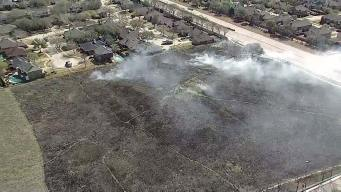 Flower Mound Orders Controlled Burn of Namesake Flower Mound