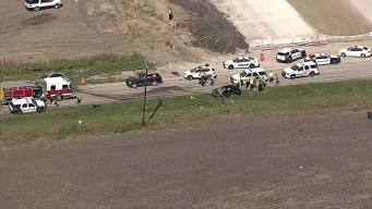 2 Killed, 1 Critically Injured in Head-On Crash in Forney
