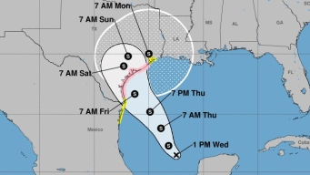 Harvey Strengthens As It Nears Texas; Could Become Hurricane