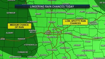 Low Chance of Storms Friday Morning