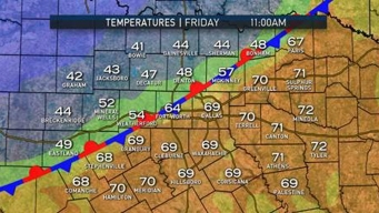 Cold Front Could Bring Temperature Changes, Rain By Weekend