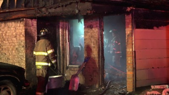 Firefighters Rescue Man From Burning Fort Worth Home