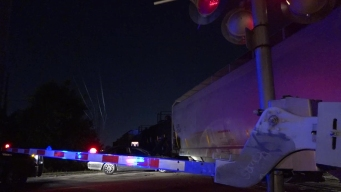 Man Arrested After Striking Train During Chase in Garland
