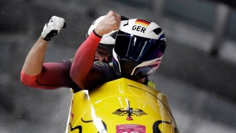 Craziest Race Ever? Canada, Germany Tie in Bobsled Thriller