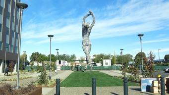 Giant Nude Statue in California Stirs Controversy