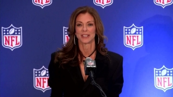 Goodell, Charlotte Jones Anderson Announce Draft in DFW