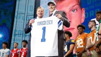 Cowboys Take Vander Esch in Draft; Baker Mayfield Goes No. 1