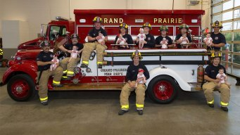 Grand Prairie FD Family Grows by 10 Babies in 12 Months