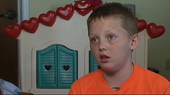 10-Year-Old Boy Describes How He Survived Tornado