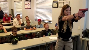 Kids Learn Gun Safety at Fort Worth Camp