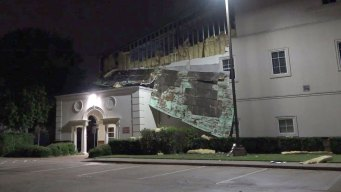 Fort Worth Church Damaged in Storm