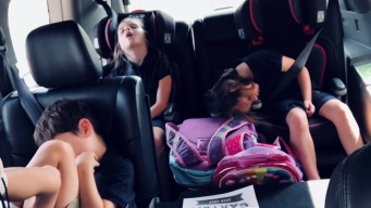 Something Good: Mom Shares Pic of 'Happy Tired' Kids