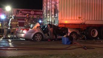 Driver, Passengers Killed After Slamming Into Semi