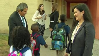 Hinojosa Welcomes Students Back to Class
