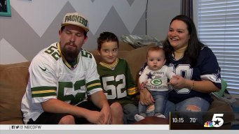 Fort Worth Baby Caught In Family Feud: Cowboys or Packers?