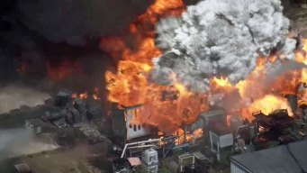 Pesticides, Petroleum Additives Found in Runoff After Houston Warehouse Fire
