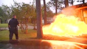 New Dashcam Video Shows Hurst House Explosion