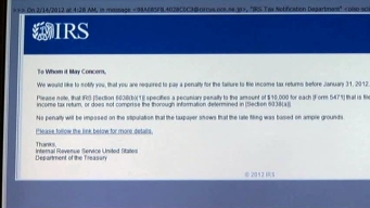 IRS E-mails May Be Phishing Schemes