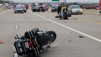 Irving Police Motorcycle Crash Not a Hit-and-Run