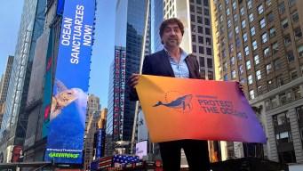 Actor Javier Bardem Urges UN Delegates to Protect Oceans