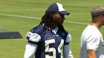 Cowboys' Jaylon Smith Finally on Field After Year's Wait