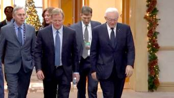 Jerry Jones, Roger Goodell Say It's All Good Between Them