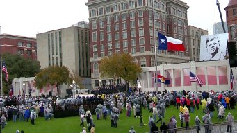 Solemn Ceremony Marks JFK Assassination Anniversary