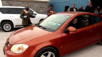 Johnson County Food Bank Surprises Mom With New Car