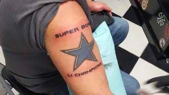 Cowboys Fan's Tattoo Portends Super Bowl LI Win