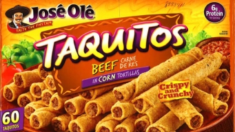 Texas-Based Company Recalls José Olé Frozen Taquitos