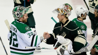 Stars Emerge from 1st Round Feeling Good About Goaltending