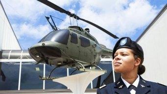 Black, Female Pilot Makes History in Alabama Guard
