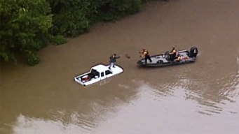 Record Rainfall Leads to Water Rescues in Kansas City Area