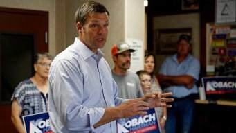 Kansas Governor's Race Turns Nasty as Kobach's Lead Dwindles