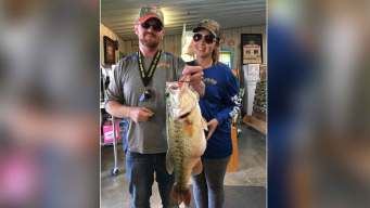 Couple Uses McDonald's Nugget to Catch Record Bass