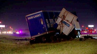 Fort Worth Man Killed in Wrong Way Crash With 18-Wheeler