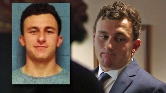 Johnny Manziel Appears in Dallas Court