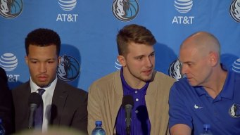 Mavs Introduce Luka Doncic Friday
