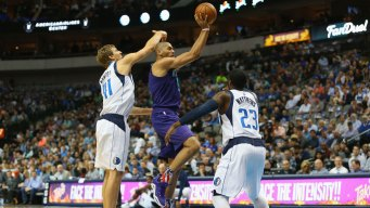 Hornets Beat Mavericks, 108-94